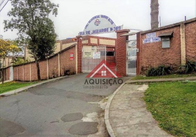 Apartamento com 2 dormitórios à venda, 41 m² por r$ 134.900,00 - bairro alto - curitiba/pr