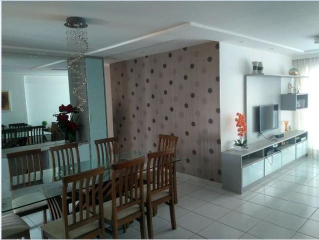 Apartamento 105m, 3/4, 2 vagas, andar alto, Capim Macio, Natal, RN