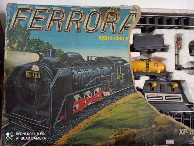 Ferrorama Antigo Estrela Xp1200 brinquedo antiguidade - Foto 2