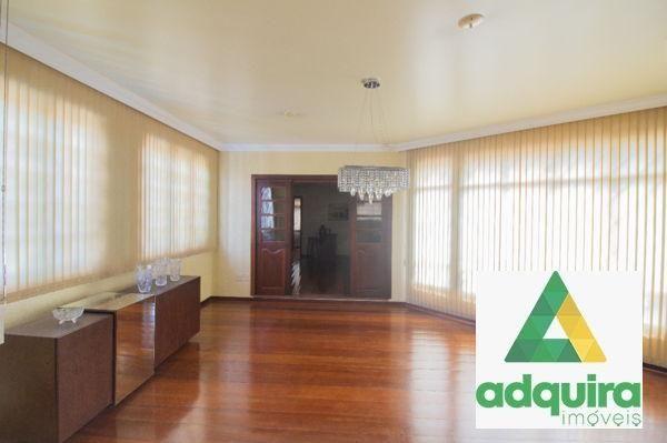 Casa sobrado com 4 quartos - Bairro Jardim Carvalho em Ponta Grossa - Foto 4