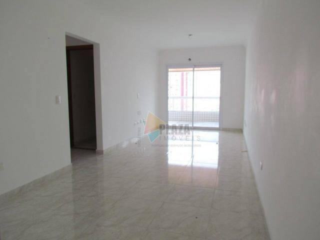 Apartamento para alugar, 100 m² por R$ 3.000,00/mês - Canto do Forte - Praia Grande/SP - Foto 16