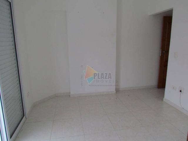 Apartamento para alugar, 100 m² por R$ 3.000,00/mês - Canto do Forte - Praia Grande/SP - Foto 15