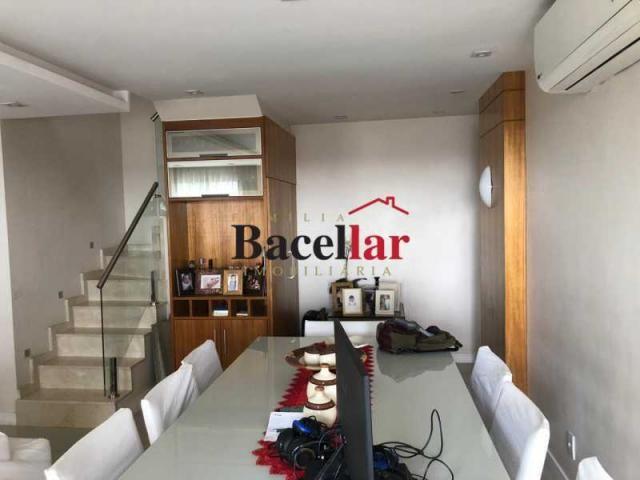 Cobertura à venda com 3 dormitórios em Tijuca, Rio de janeiro cod:TICO30224 - Foto 3