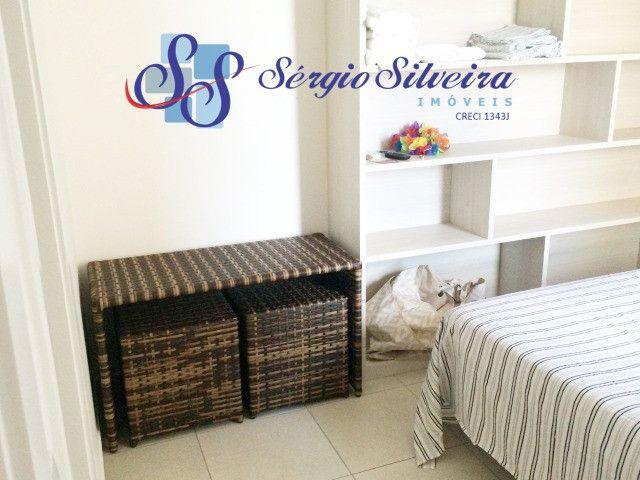 Cobertura duplex mobiliada no Mediterranée Residence no Porto das Dunas com 3 suítes - Foto 17