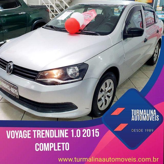 Volkswagen Voyage 1.0 trendline completo,2015,oportunidade!!!