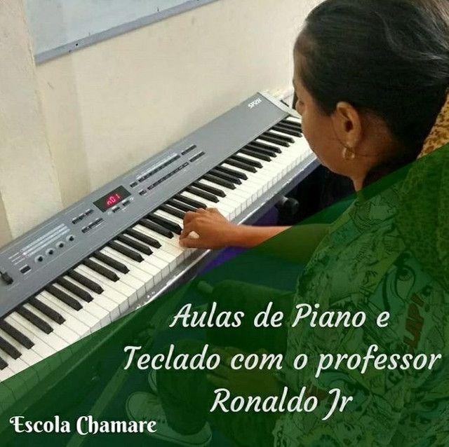 AULA DE PIANO / ESCOLA CHAMARE