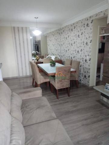 Apartamento com 3 dormitórios à venda, 76 m² por R$ 290.000,00 - Morada de Laranjeiras - S