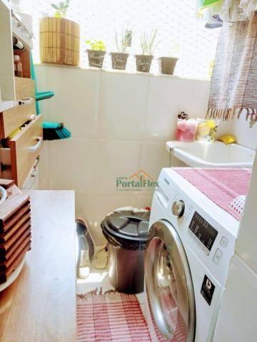 Apartamento com 2 dormitórios à venda, 62 m² por R$ 240.000,00 - Valparaíso - Serra/ES - Foto 11