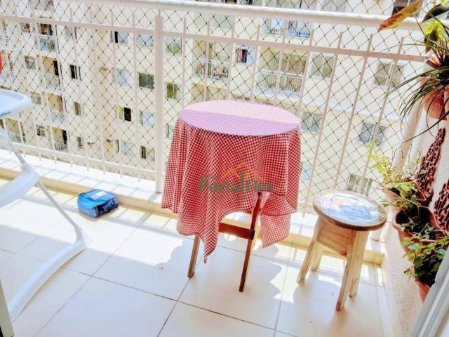 Apartamento com 2 dormitórios à venda, 62 m² por R$ 240.000,00 - Valparaíso - Serra/ES - Foto 4