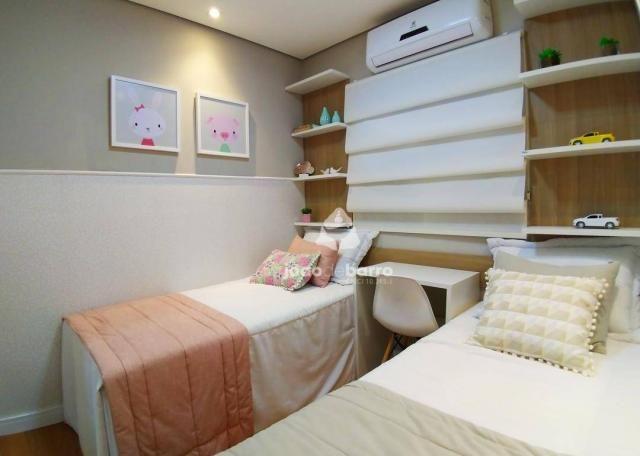 Apartamento com 2 dormitórios à venda, 46 m² por R$ 159.990 - Tijuca - Campo Grande/MS - Foto 7