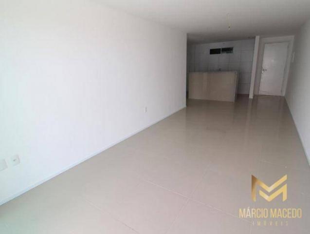 Apartamento com 3 quartos à venda por R$ 460.000 - Porto das Dunas - Aquiraz/CE - Foto 3