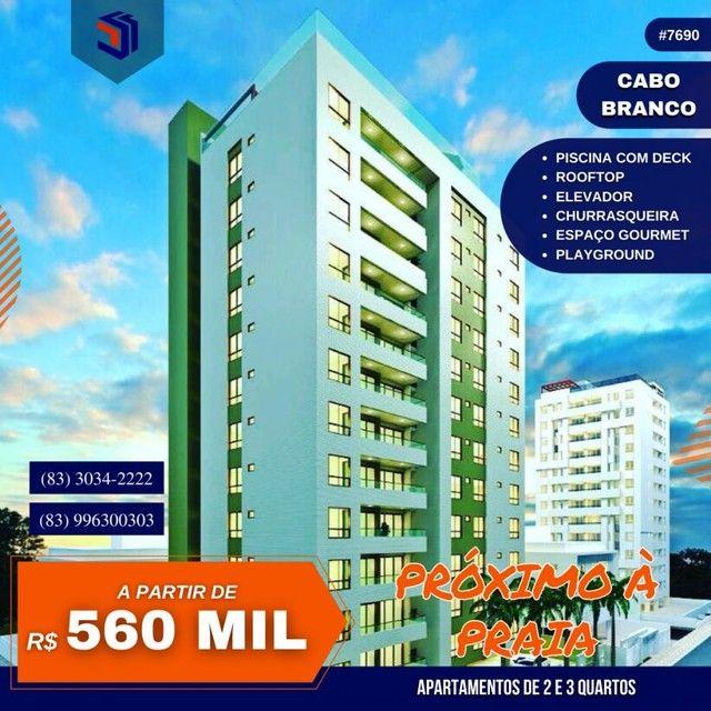 Apartamento para Venda em João Pessoa, Cabo Branco, 2 dormitórios, 1 suíte, 2 banheiros, 2