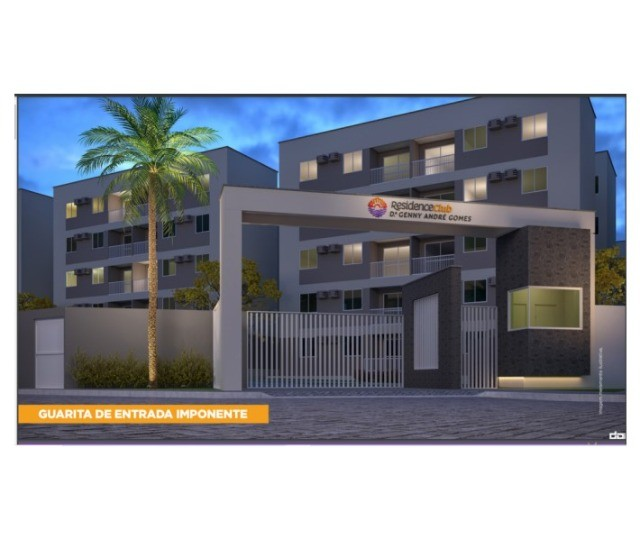 Residence club Dr Genny André Gomes apartamentos de 2 - 3 quartos com suítes