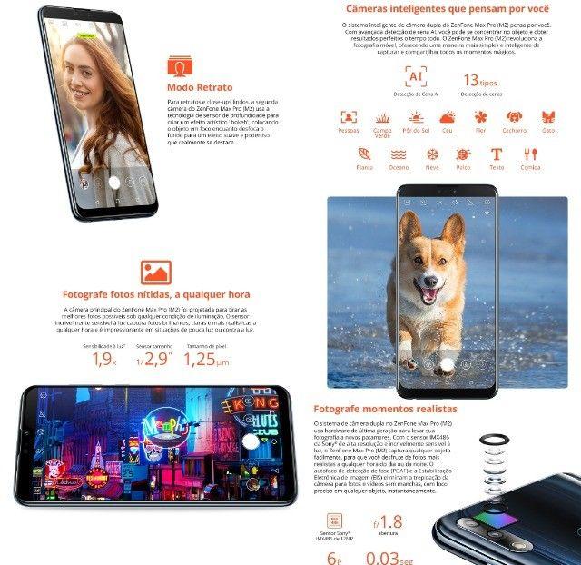 Smartphone Asus Zenfone Max Pro (M2) 6GB/64GB Black Saphire - Foto 5