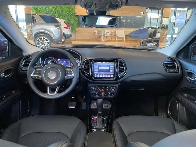 Jeep Compass Limited 2.0 Automático Flex C Teto e High Tech 2019 - Foto 12