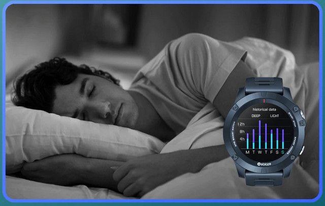 Zeblaze vibe 3 gps smartwatch freqüência cardíaca multi modos de esportes à prova água - Foto 4