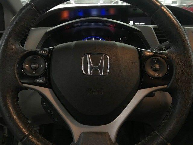 Honda Civic LXS 1.8 Aut 2014 - Foto 9