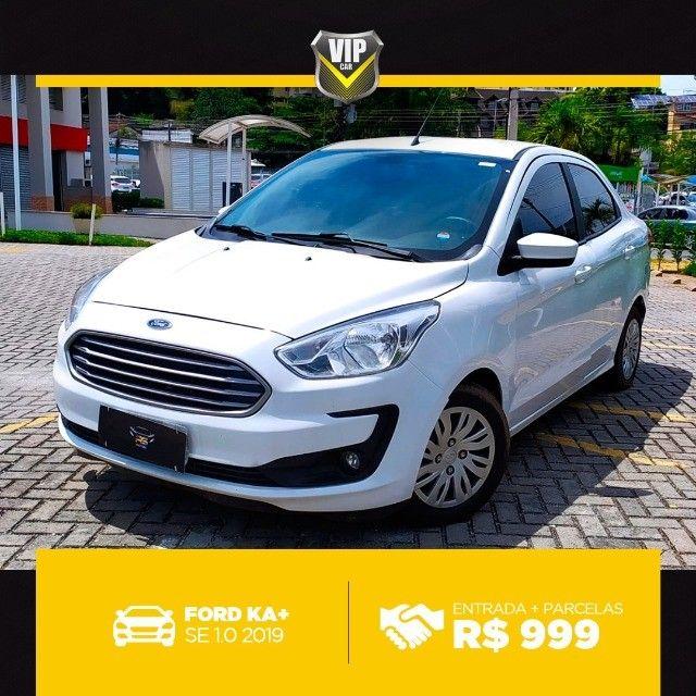Ford Ka 2019 1.0 completo e vistoriado!!! - Foto 3