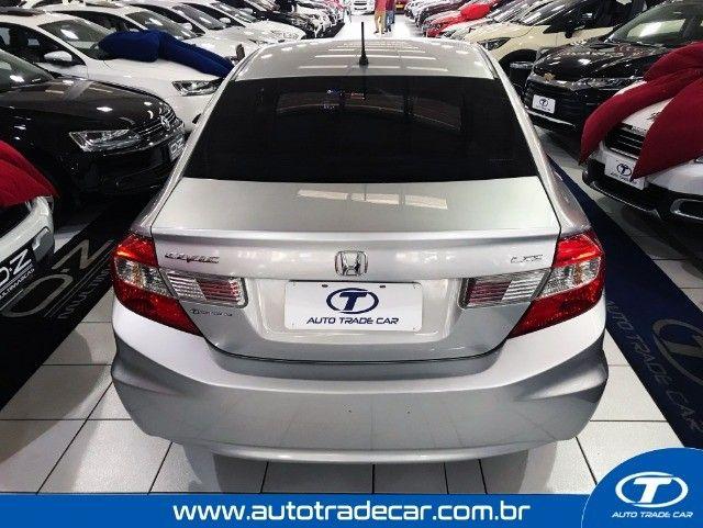 Honda Civic LXS 1.8 Aut 2014 - Foto 4