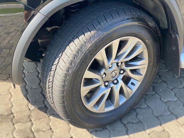 Toyota SW4 2021 SRX 0 KM Preta 7 Lugares Diesel  Pronta Entrega - Foto 9