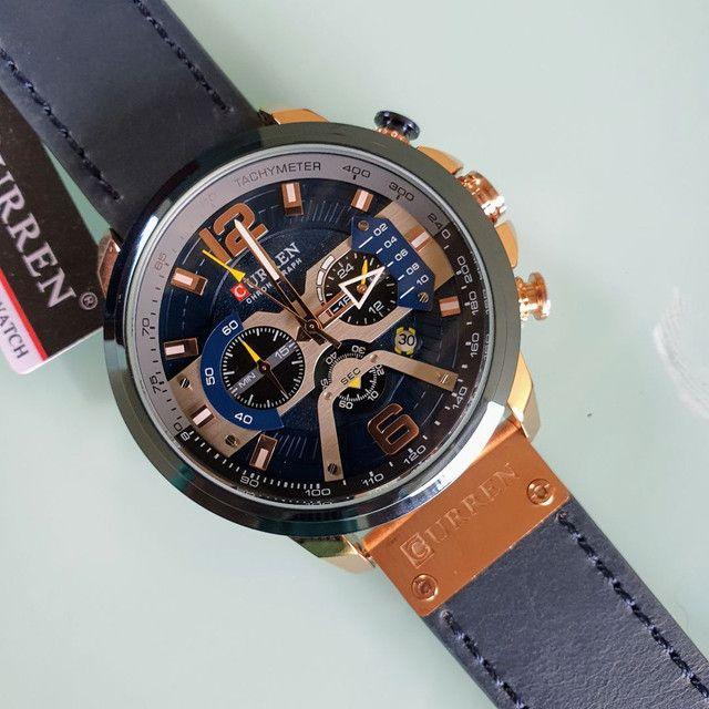 Relógio Curren Original à prova d'água  - Foto 4