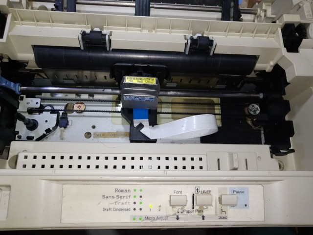 Impressora matricial Epson com cabos funcionando - Foto 2