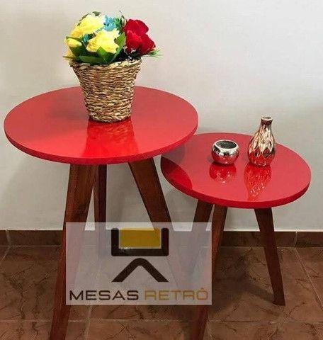MESAS RETRÔ ARTESANAL - Foto 5