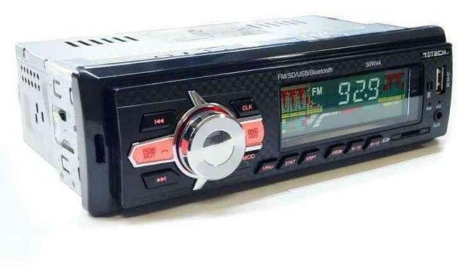 Rádio Automotivo MP3 Bluetooth  - Foto 4