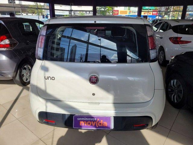 Fiat Uno Attractive 1.0 Fire Flex 2020 com Ipva 2021 pago - Foto 3