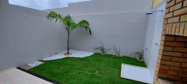 Casa de 3 Quartos | Varanda Gourmet | Terreno com 34m de comprimento - Foto 8
