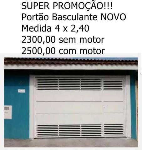 Portões Automático Novo promoção valida até 25/05/2018