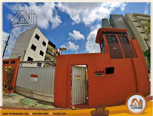 Vendo apartamento 3 quartos no bairro Jacarecanga