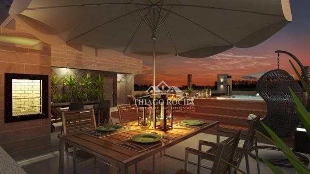 Studio com 1 dormitório à venda, 39 m² por r$ 189.000 - são pedro - são josé dos pinhais/p - Foto 12