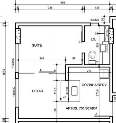 Apartamento à venda, 1 quarto, buritis - belo horizonte/mg - Foto 3