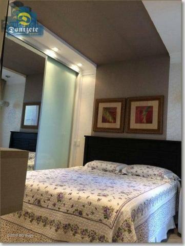 Apartamento com 3 dormitórios à venda, 89 m² por r$ 590.000,10 - cerâmica - são caetano do - Foto 11