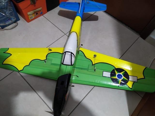 Aeromodelo Tucano + Eletrônica
