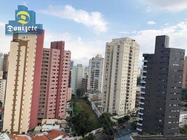 Apartamento com 3 dormitórios à venda, 150 m² por r$ 550.000,01 - vila bastos - santo andr - Foto 8
