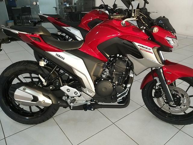 Entrada de R$ 4100 + 48x 598 Yamaha Fazer 250cc ABS 21/21 Imperdível