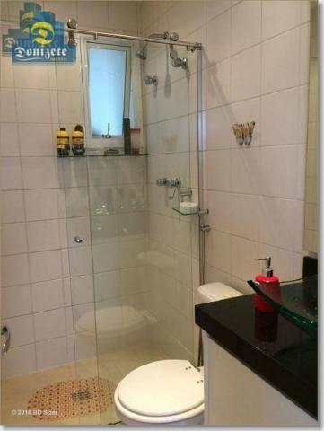Apartamento com 3 dormitórios à venda, 89 m² por r$ 590.000,10 - cerâmica - são caetano do - Foto 17