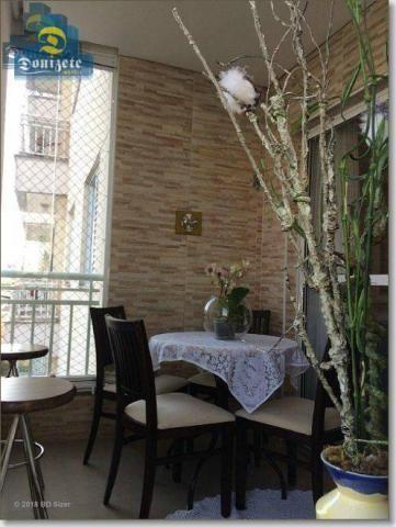 Apartamento com 3 dormitórios à venda, 89 m² por r$ 590.000,10 - cerâmica - são caetano do - Foto 10