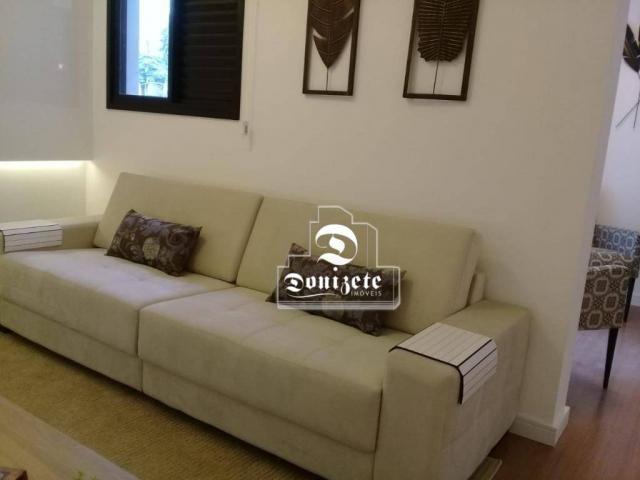 Apartamento à venda, 81 m² por r$ 515.000,00 - jardim - santo andré/sp - Foto 8