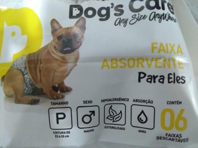 Pacote de fralda para cachorro/gato masculino - Foto 2