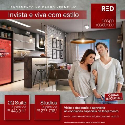 1 quarto e sala Barro Vermelho Novo Lançamento Imperdível - Foto 8