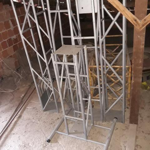 Estrutura de treliça para iluminação - Foto 2
