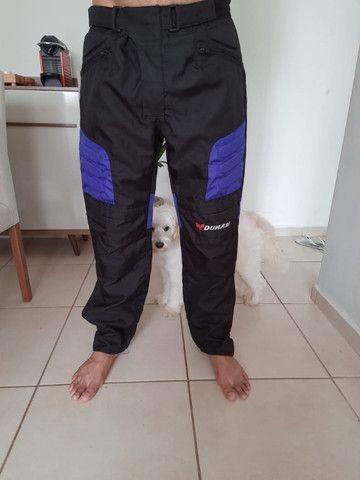 Jaqueta e calças motociclista - Foto 3