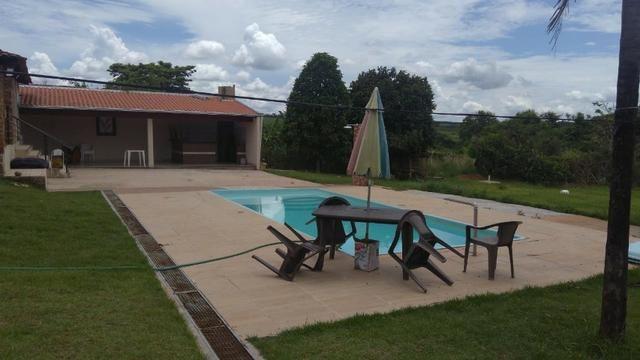 Aluga chácara com piscina Cond. Estância Primavera 2 - Foto 18