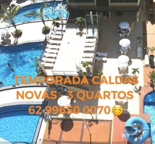 CARNAVAL - Apartamento Caldas Novas - Temporada - 3 quartos - Foto 17