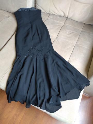 Vestido de festa bordado (IMPECÁVEL) - Foto 4