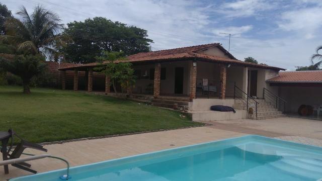 Aluga chácara com piscina Cond. Estância Primavera 2 - Foto 2