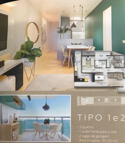 Apartamentos de frente para o mar (Construção) - Foto 2